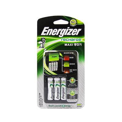 (特価)エナジャイザーマキシ充電器(充電池AA4不明を含む)