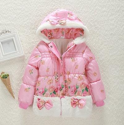 韓国子供服子供肥厚カシミアのコート