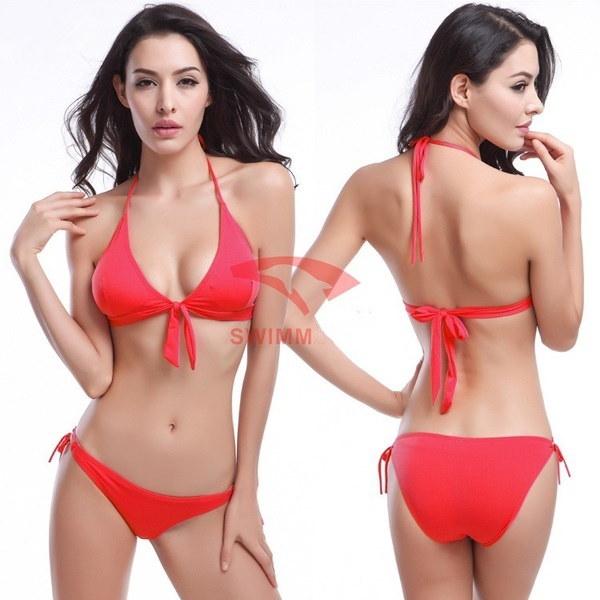 Hot Bikini Set Sexy Swimsuit Bandage Swimwear Summer Women Bathing Suit Push Up Biquinis Feminino 20