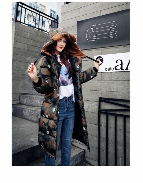レディース長袖ダウンコットンパッド入りジャケットコート+暖かい冬のダウンジャケットダウンジャケット女性黒ジャケット