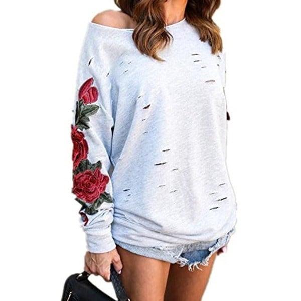 New Fashion Casual Sexy Deep V Neck Button Slim Waist Long Sleeves Chiffon Blouse Shirt Top