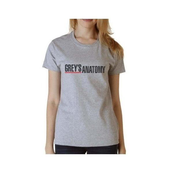 夏の女性のグレーの解剖学的なプリントトップ女性の女性のネック半袖のTシャツカジュアルなTシャツ