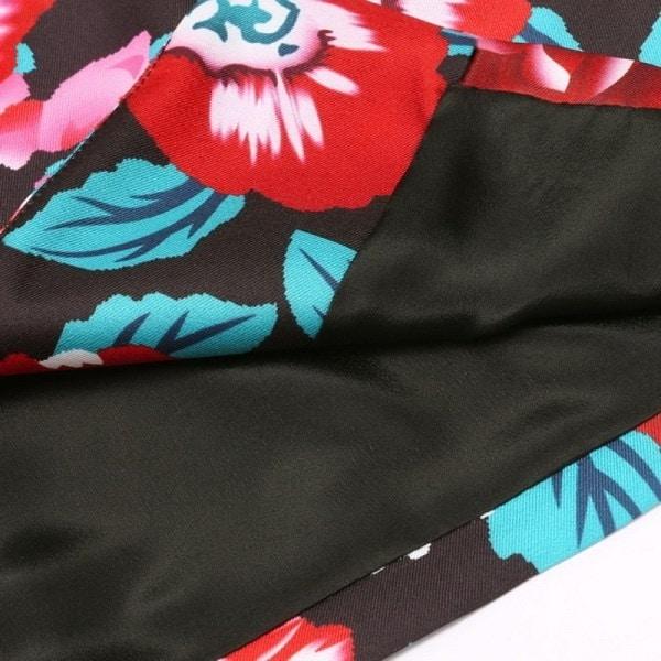 新スタイリッシュレディースフラワーロングスリーブジャケットコートスリムブリーザスーツカジュアルアウトレット(サイズ:M・カラー:M