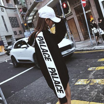 2018 新品入荷★ パーカー 原宿風 レディース トレーナー  韓国ファッション プルオーバー 長袖 デザイン カジュアル シック かわいい 大きいサイズ アウター あたっか