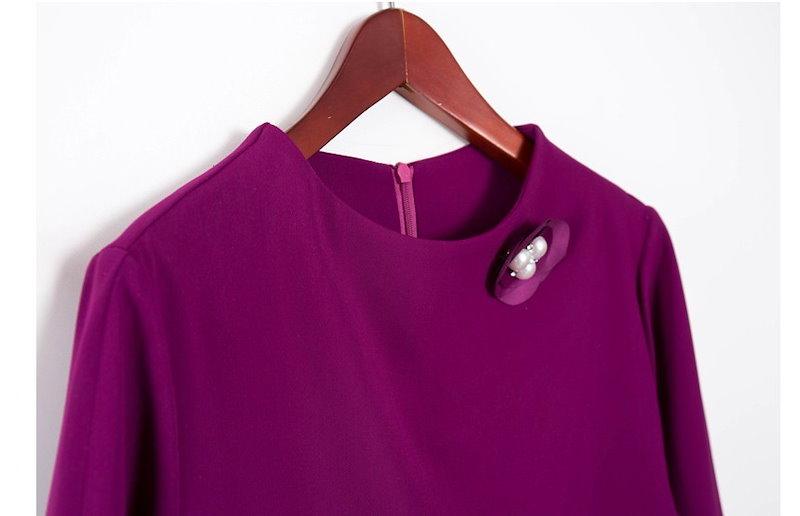 『韓国製』SELLISHOP Herina ワンピース「大きいサイズ 大人 韓国 ファッション・結婚式・フォマール 黒 フレア 30代 40代 50代 スレンダー・Aライン,シャツ・上品・ロング ミセ