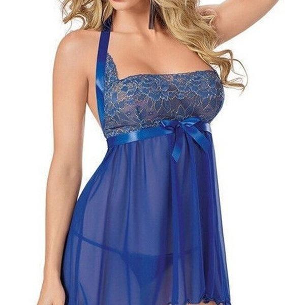 セクシーな女性のランジェリーBabyDollパジャマナイトウエアドレスNightwearプラスサイズ