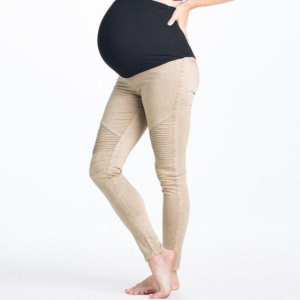 2017新しい秋のマタニティパンツ妊娠中の女性のための緩い妊娠中の服のズボンWS3853L