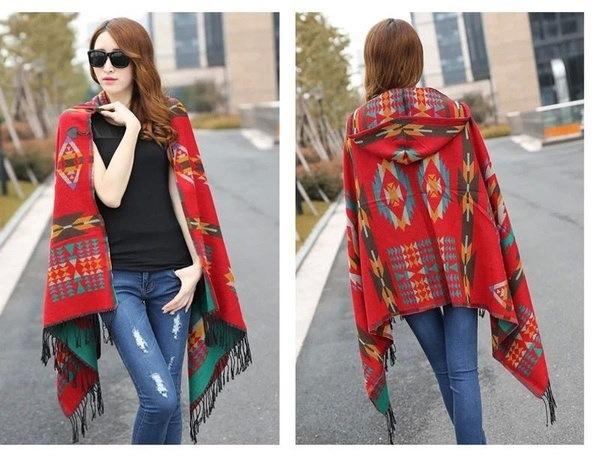 女性不規則なタッセルニットカーディガンルーズセーターアウトレットジャケットポンチョコート