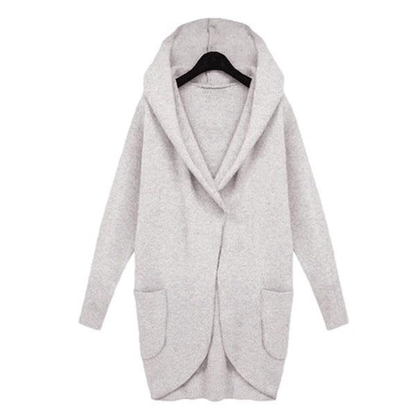 女性秋冬ジャケットロング女性コートスリムロングスタイルソルダーウールポケットコートジャケット女性