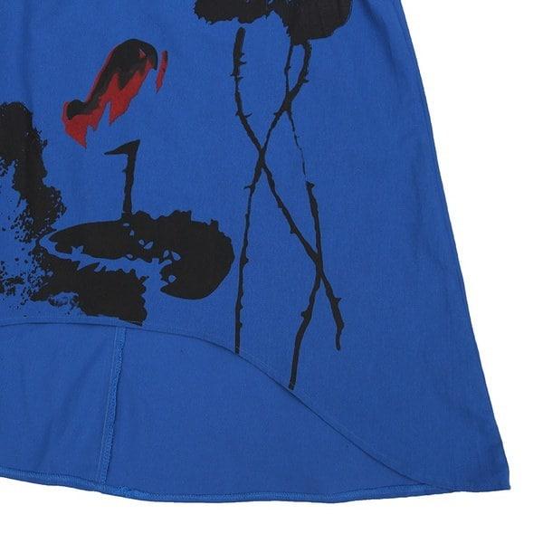 新しい女性KleidヴィンテージフラワーアシンメトリーKaftan Aラインロングマキシベストドレスプラスローブ