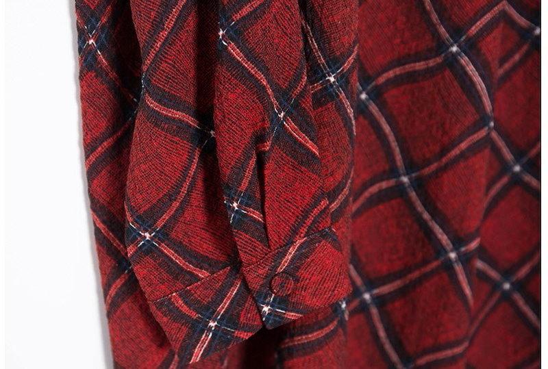『韓国製』SELLISHOP  Marso check ワンピース「大きいサイズ 大人 韓国 ファッション・結婚式・フォマール 黒 フレア 30代 40代 50代 スレンダー・Aライン,上品・ロング