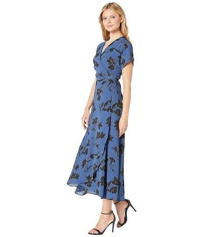 ボベー レディース ワンピース トップス Printed Wrap Maxi Dress