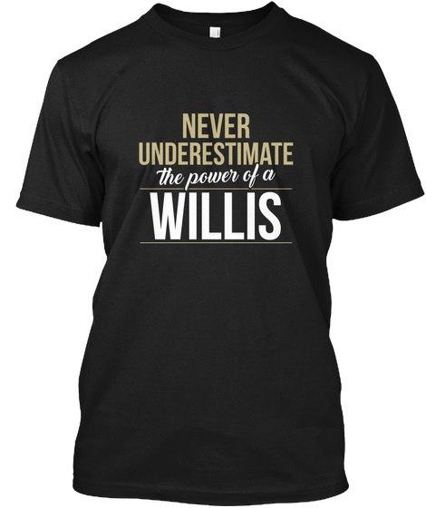 Willisは過小評価しないWillis Hanes Tagless Tee