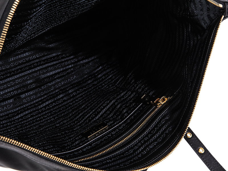 【本物保証】PRADA プラダ BAG バッグ NERO / ブラック2wayトートバッグ 1BG253 ハンドバッグ ショルダーバッグ 【送料無料】