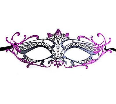 (ラグジュアリーマスク)ラグジュアリーマスク女性のレーザーカットメタルティアラヴェネチアプリティマスカレードマスク