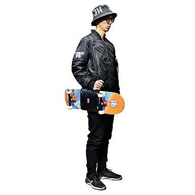 バックパックスケートボードキャリングバッグスケートボード用ロングボードバッグスケートボードcmアウトドアユニセックスナイロン