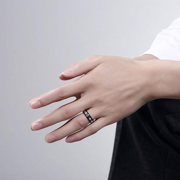 TGR021#925スターリングシルバーフラワーCZストーンウェディングブライダルリングファッションジュエリー幾何学シルバー