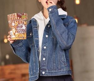デニムジャケット アウター 秋冬 暖かい 防寒 大きいサイズ 普段使い 体型カバー 着痩せ オフィス 通勤 デート 通学 韓国