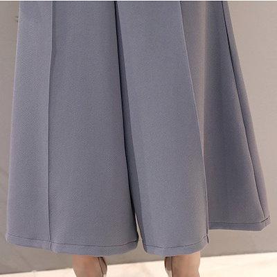 韓国ファッション 春 韓国 袖付き 袖あり お呼ばれ パンツドレス 30代 二次会 お呼ばれドレス パンツ 20代 パーティ 結婚式 秋新作 秋 パーティドレス パンツドレス
