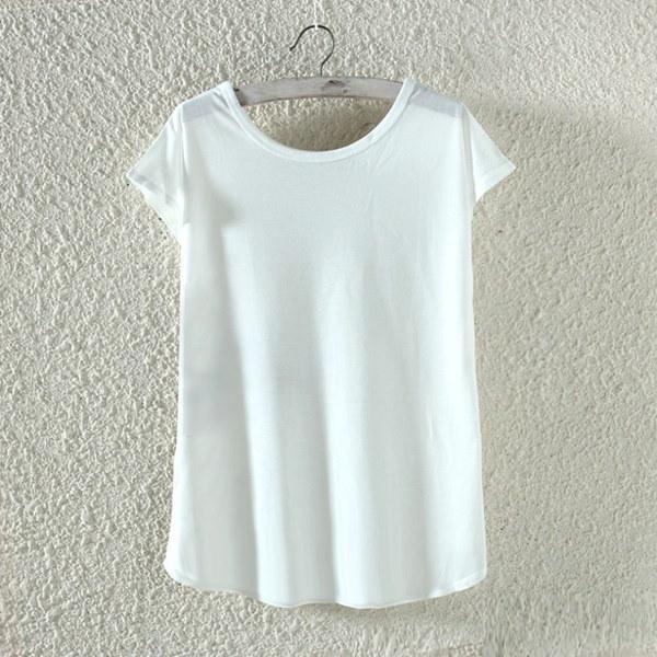 猫のドアショップ新しい到着の女性夏のユニコーンの文字プリントラウンドネックティーシャツ半袖