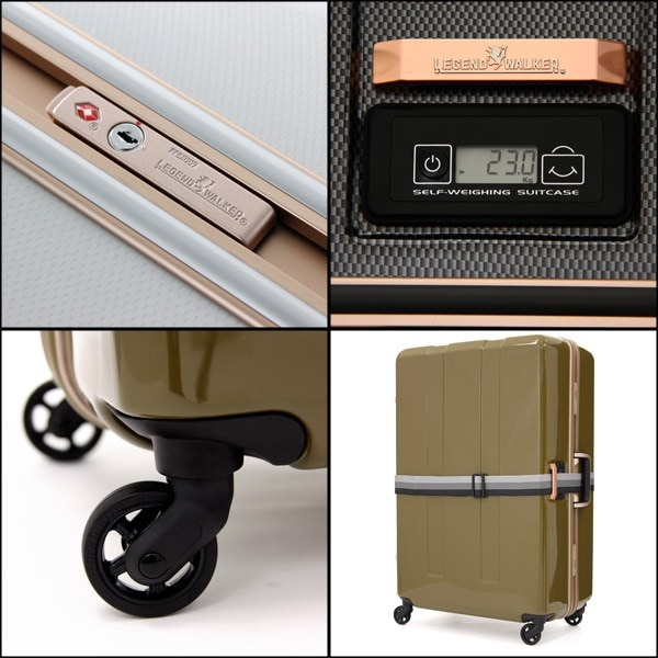T&S レジェンドウォーカー超軽量 スーツケース キャリーケーストラベルケース キャリーバッグ6703-645日 6日 7日 対応71リットル