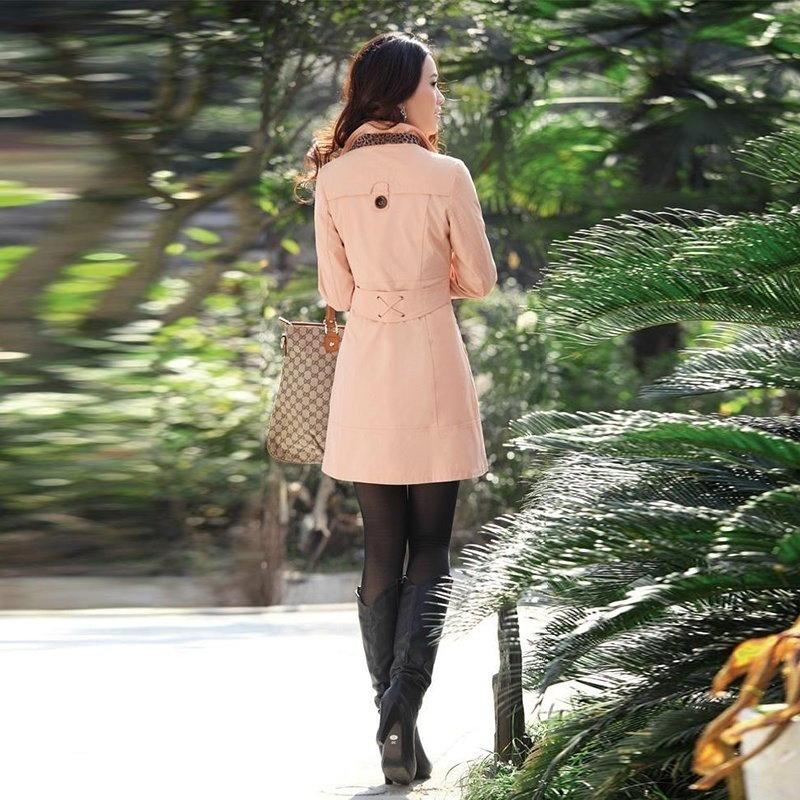 Zwutu 0427女性のファッショントレンチコートHeadsetbuy