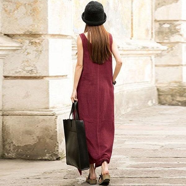 プラスサイズS-5XL Vintage Femmes Bohoさんは、