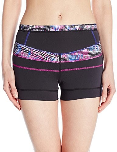prAna Womens Hydra Shorts, Black Driftwood, Small