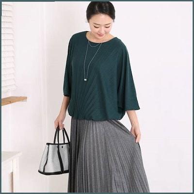 [マダムセンス]ママの服バルレンシャ・プリーツチョンジャンティMT6735 /シフォン/シースルーブラウス/韓国ファッション