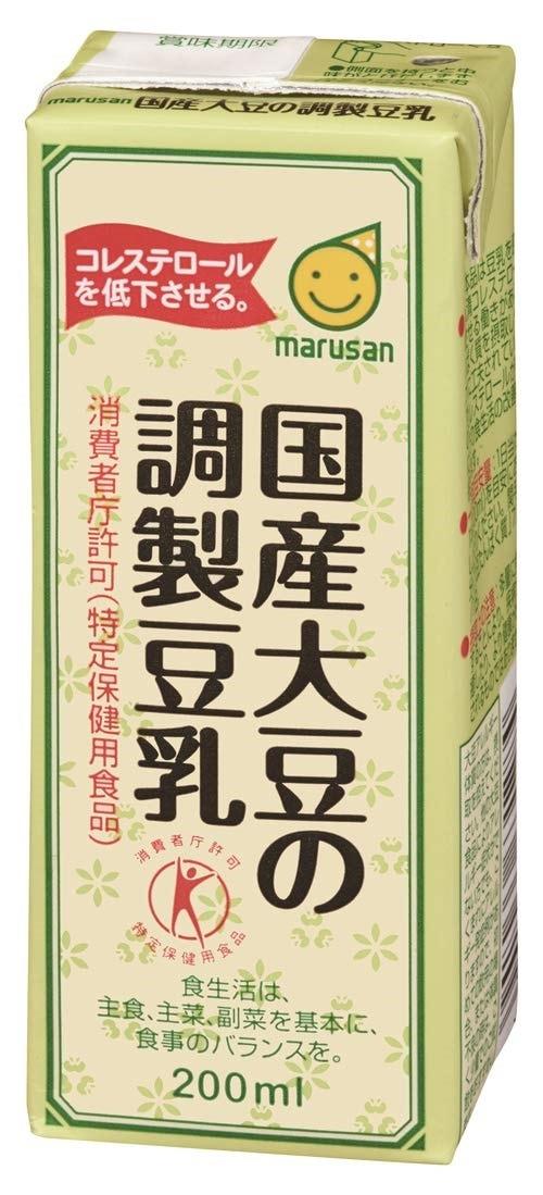 価格.com - マルサンアイ マルサン 国産大豆の調製豆乳 200ml ×24本 ...