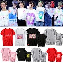 【品質保証/2枚+1枚福袋は】韓国 アイドル 同じデザイン半袖 Tシャツ  韓国ファッション レディース メンズ トップス カジュアル シンプル