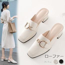 1FC635-春夏向け新作 ミッドヒール浅い靴レディース韓国ファッションカジュアルイブニングシューズファッションAX097