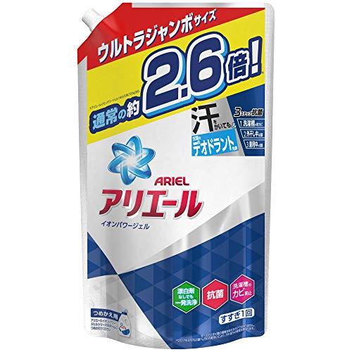 アリエール 液体 抗菌 洗濯洗剤 詰め替え 約2.6倍分(1.9kg)1900g(旧)
