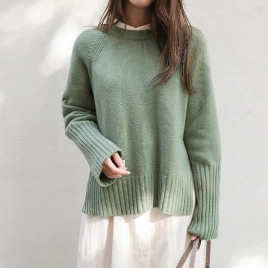 チェリーココmarella、knitC709PHKN53カラー・ニットベーシック基本デイリーH2 ニット/セーター/韓国ファッション