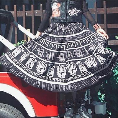 レディースロングスカート ボトムス ファッション 上質 プリント ボヘミア風 きれいめ 着心地よい お洒落 夏 レディースロングスカート