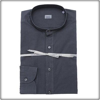 [AK公式ストア]【renoma shirts]チャイナアレクがラールディ[DJSSL1-100-BW]