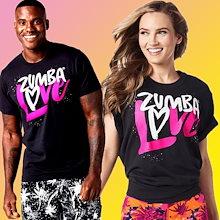 新着アイテム ZUMBA (ズンバ) LOVE Tシャツフィットネスウェア ダンスウェア ヨガウェア トレーニングウェアZ1T084