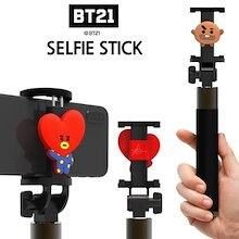 【BT21】BT21ブルートゥース自撮り棒/BT21 bluetooth selfie stick/8種・セルカ棒