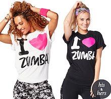 新着アイテム ZUMBA (ズンバ) LOVE Tシャツフィットネスウェア ダンスウェア ヨガウェア トレーニングウェア運動用 トップス トレーニング ZU045
