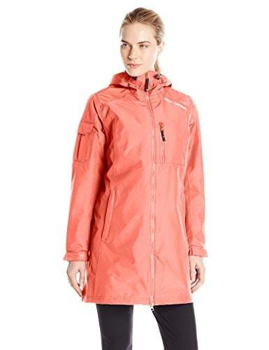 Helly Hansen Womens Long Belfast Jacket, Sorbet, Medium