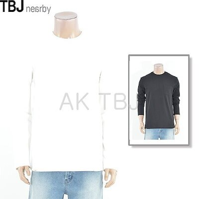 TBJ[AK公式ストア]【TBJ] [TBJ] Tシャツの男性ワッフル組織Tシャツ(T191TS040P)