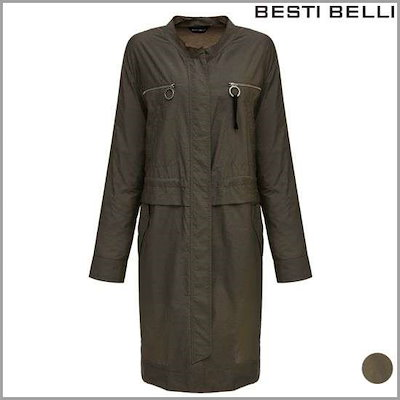[ベスティベルリ]ポケットの輪ポイント、トレンチコート(BQNAD2604) /トレンチコート/コート/韓国ファッション