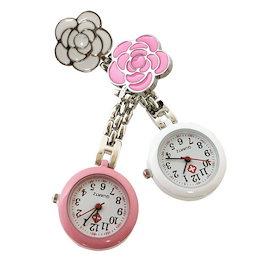 9dd948df358a55 バイカラーカメリア ナースウォッチ 懐中時計 看護士 医療 時計 アナログ