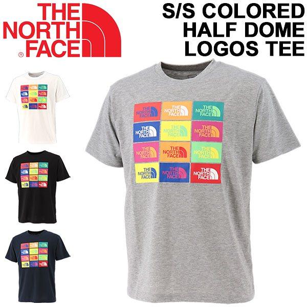 半袖 Tシャツ メンズ ノースフェイス THE NORTH FACE ショートスリーブ カラード ハーフ ドーム ロゴス ティー/アウトドア 男性 プリントT トップス/NT32049