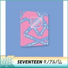 【予約】 SEVENTEEN / YOU MAKE MY DAY / SET THE SUN VER / キノアルバム / 5THミニアルバム / KIHNO KIT+フォトカードセット+ポストカード