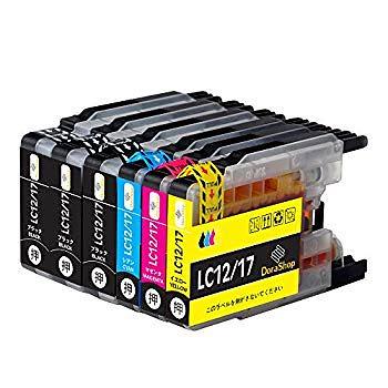 Brother ブラザーLC12-4PK LC17-4PK 互換インク LC12 / LC17大容量タイプ 4色セット+黒2本 LC12BK LC12C LC12M LC12Y ブラック/シアン/マゼ