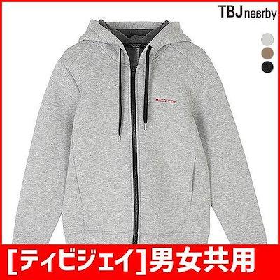 [ティビジェイ]男女共用申立担保ネオプレンフードジップアップ(T181TJ400P) フード/ジップアップジャンパー/ 韓国ファッション