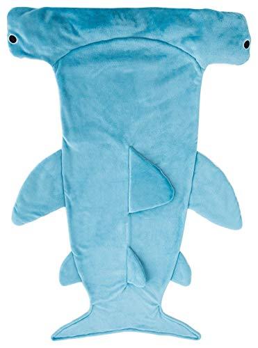 丸眞 着る毛布 シュモクザメ H145100cm 大人用 寝袋 穿く毛布 0295066300