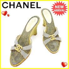 ef38865acd3d シャネル CHANEL サンダル シューズ 靴 レディース ウェッジソール ココマーク ベージュ×ネイビー×ホワイト 人気