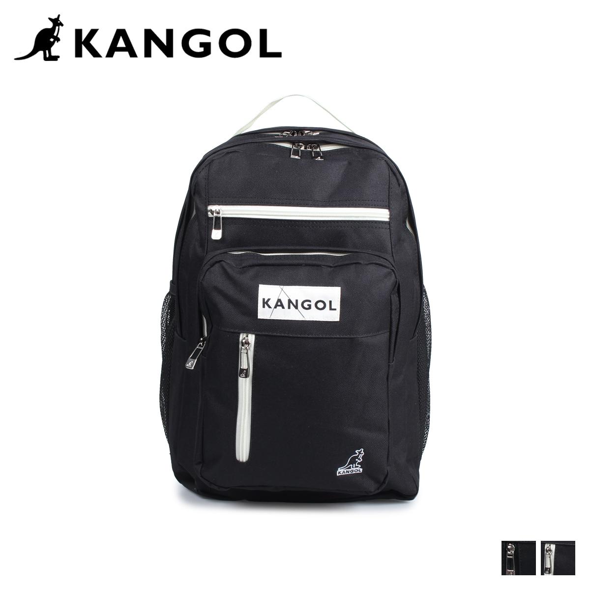 カンゴール KANGOL リュック バッグ バックパック メンズ レディース FUNCTIONAL RUCK SACK ブラック 黒 KGSA-BG00019